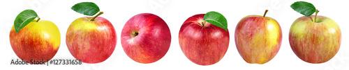 Fotografiet apple isolated on white