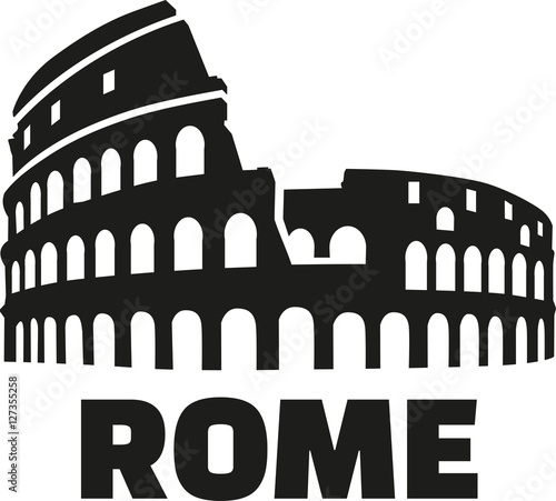 Canvas-taulu Colosseum rome german
