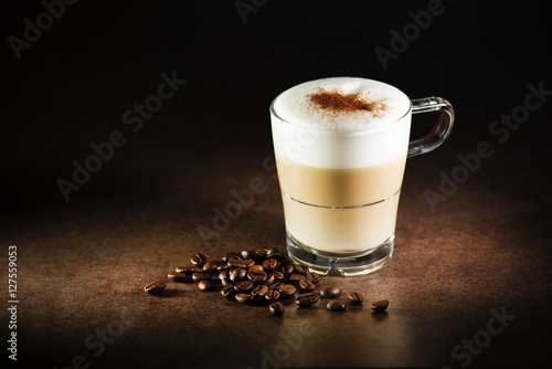 Cappuccino coffee Poster Mural XXL