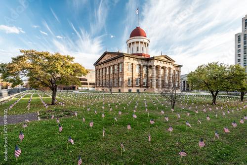 Fotografia Illinois Old State Capitol