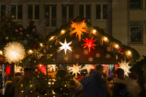 Deutschland, Baden-Württemberg, Karlsruhe, Weihnachtsmarkt #127794039
