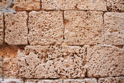 Photo muro in tufo