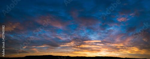 Valokuva sunset sky