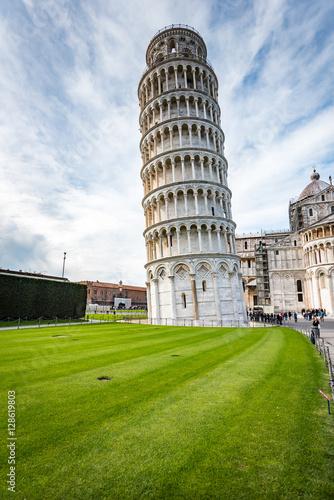 Obraz na płótnie Krzywa wieża w Pizie