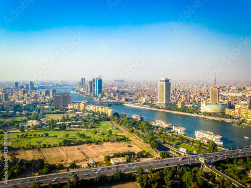 Cairo from atop the Tower of Cairo