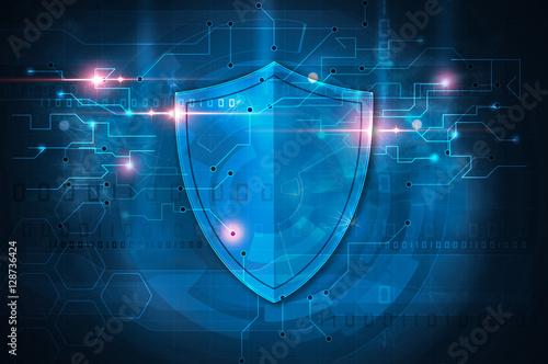 Canvastavla antivirus shield
