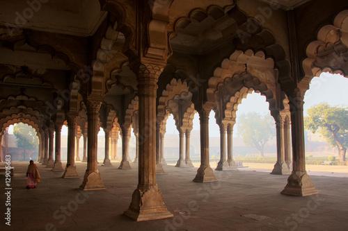 Fotografia, Obraz Diwan-i-Am - Hall of Public Audience in Agra Fort, Uttar Pradesh