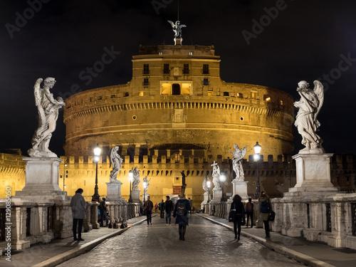 Canvas-taulu The Mausoleum of Hadrian