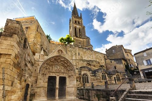 Old monolithic church Fototapet