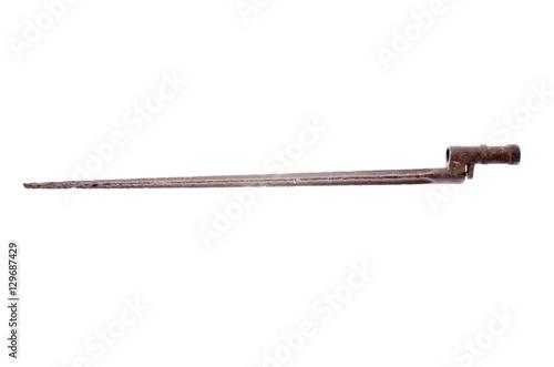 edged weapons antiques a bayonet knife Soviet Army World War II Fotobehang