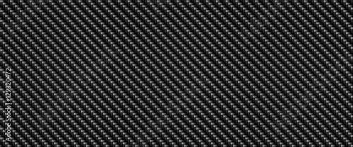 Foto Black carbon fiber material texture background, digital illustration art work