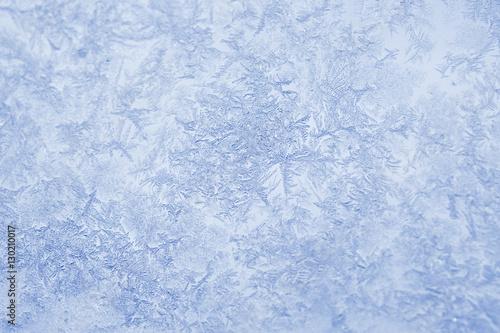 Obraz na płótnie Texture of frost
