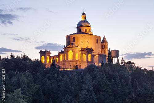 Fototapeta The Sanctuary of the Madonna of San Luca, Bologna, Emilia-Romagna