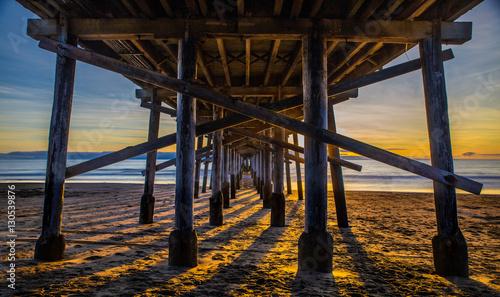 Sunset Under The Pier