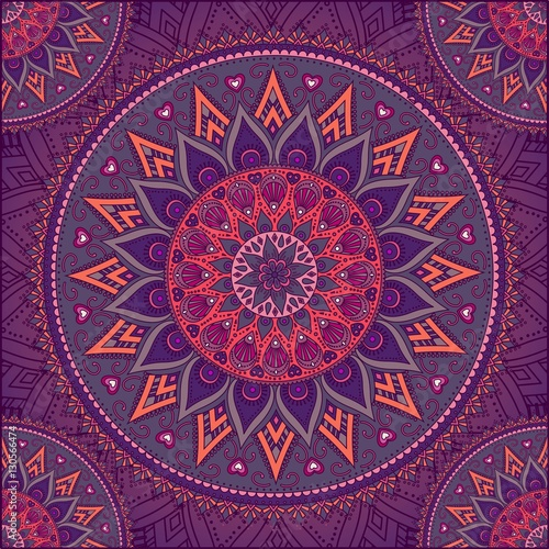 Canvas Print Mandala