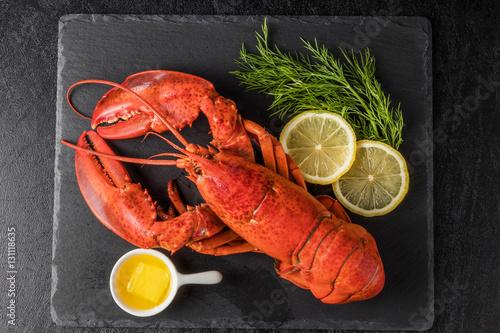 Tablou Canvas 高級ロブスター  High-quality lobster