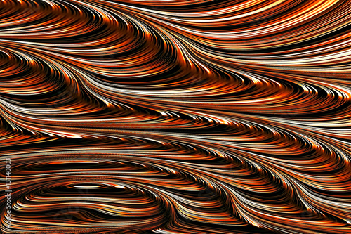 Abstract fractal texture - digitally generated image