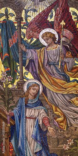 Fototapeta Annunciation (mosaic)