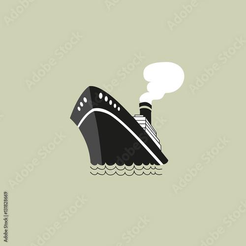 Obraz na płótnie Nautical symbol concept