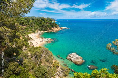 Canvas Costa Brava beach, ..Catalonia, Spain
