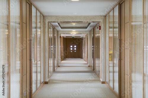Canvas Print Office Corridor