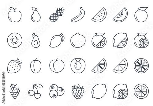 Ikona owoców opisane