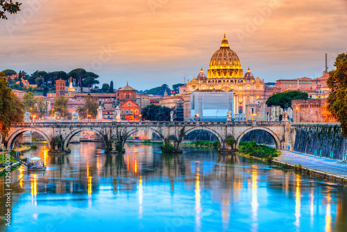 Tableau sur Toile St Peter Cathedral, Rome, Italy
