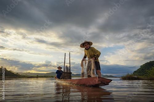fishermen Fototapeta