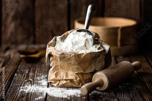 Canvastavla flour