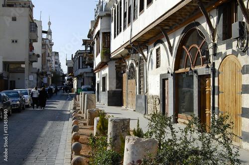 Street in Damascus - Syria (Before Civil War)