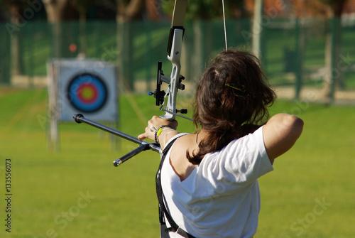 Fotografia Archery Targeting
