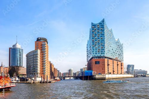 Hamburg, Elbphilharmonie, Speicherstadt