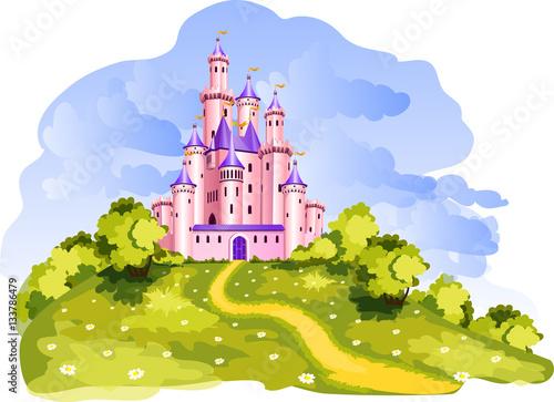 Tale castl at a Wonderland.