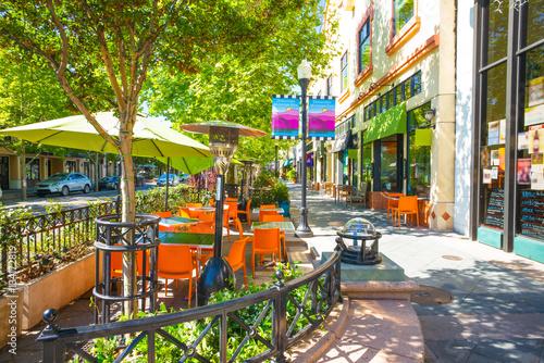 Fotografia Castro ulica ww centrum Mountain View, Kalifornia, usa