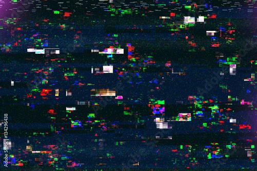 Digital tv damage, television broadcast glitch