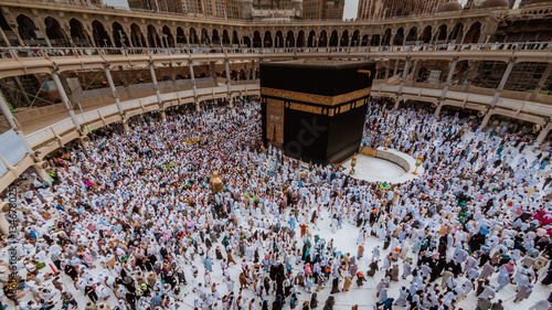 Millions of Muslims gather in Saudi Arabia for the annual Hajj pilgrimage in vintage style.