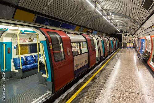 Fotografia London Underground Tube Station