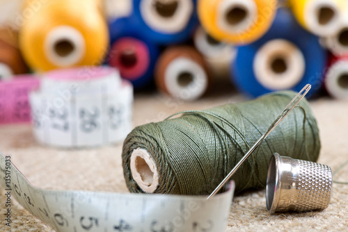 Billede på lærred sewing kit
