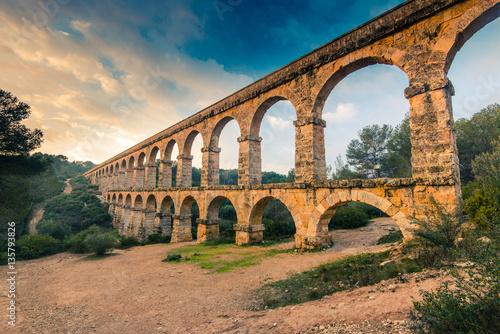 Roman Ponte del Diable in tarragona,Spain