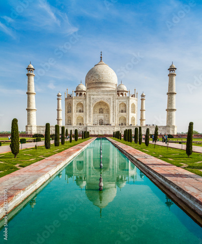 Obraz na plátně Taj Mahal, India
