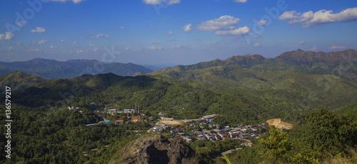 Fényképezés Maggia valley town
