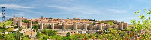 The historic town of Avila