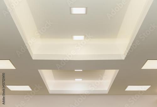 Canvas Print modern ceiling lights