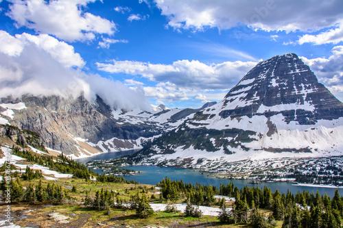 Fotografie, Obraz Hidden Lake in  Glacier National Park, Montana