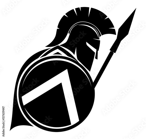 Fotografia, Obraz Spartan sign.