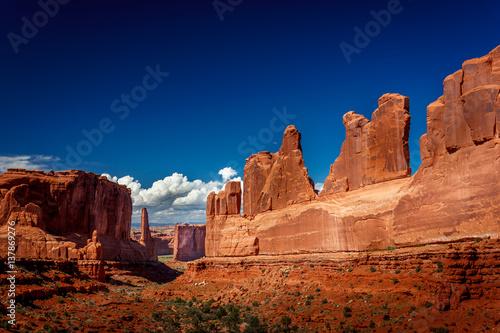 Canvas Print Arches National Park