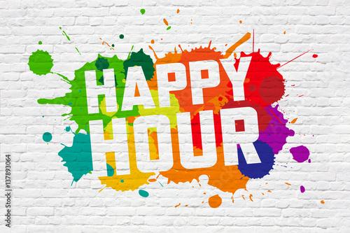 Happy hour Fototapet