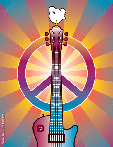 Fototapeta Tribute to Woodstock 2