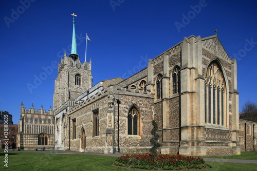 Canvas Print Chelmsford Cathedral, Chelmsford, Essex, England