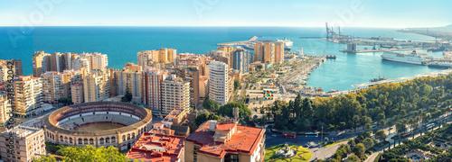 Photo Cityscape of Malaga city